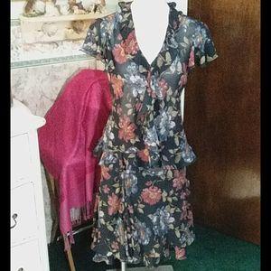 Chaps 2 piece dress size M